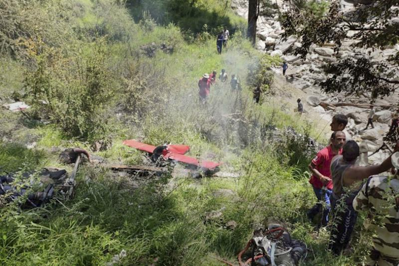 3 Killed as Helicopter Involved in Flood Relief Crashes in Uttarakhand; DGCA to Conduct Preliminary Probe