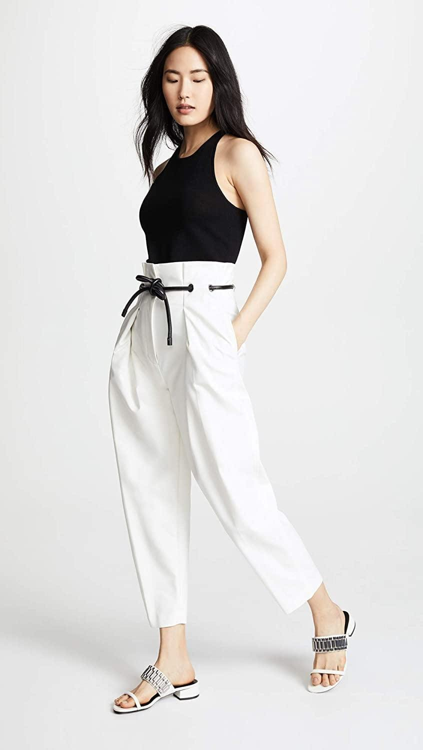 <p>Rock white after Labor Day with these <span>3.1 Phillip Lim Origami Pants</span> ($475).</p>