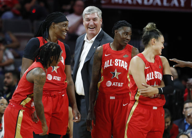 The WNBA didn't let its players fly first class to the All-Star Game, even after Las Vegas Aces coach and president Bill Laimbeer set aside extra money for them to do so.
