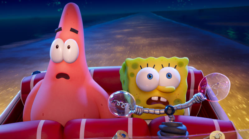 'The SpongeBob Movie: Sponge on the Run'. (Credit: Paramount)