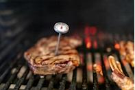 """<p>To make sure those <a href=""""https://www.thedailymeal.com/cook/steak-grilling-temperature-guide?referrer=yahoo&category=beauty_food&include_utm=1&utm_medium=referral&utm_source=yahoo&utm_campaign=feed"""" rel=""""nofollow noopener"""" target=""""_blank"""" data-ylk=""""slk:grilled steaks come to the perfect temperature"""" class=""""link rapid-noclick-resp"""">grilled steaks come to the perfect temperature</a>, give your grilling enthusiast this <a href=""""https://www.amazon.com/Instant-Read-Meat-Thermometer-Calibration/dp/B073KYTWGB/ref=as_li_tl?ie=UTF8&amp%3Bcamp=1789&amp%3Bcreative=9325&amp%3BcreativeASIN=B073KYTWGB&amp%3BlinkCode=as2&amp%3Btag=thedailymeal-editorial-referral-20&referrer=yahoo&category=beauty_food&include_utm=1&utm_medium=referral&utm_source=yahoo&utm_campaign=feed"""" rel=""""nofollow noopener"""" target=""""_blank"""" data-ylk=""""slk:meat thermometer"""" class=""""link rapid-noclick-resp"""">meat thermometer</a>, which will help prevent overcooking or undercooking the meat.</p>"""