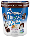 """<p>Dream makes a<em> whooole</em> lot of products from a <em>whooole</em> lot of bases: almond, coconut, rice, or soy. But the best is their ice cream bites, perfect for snacking (and sharing...if you're able). They come in vanilla, chocolate, and peppermint. <em>Drool.</em></p><p><em>Our choice: Almond Dream Vanilla Bites</em></p><p><a class=""""link rapid-noclick-resp"""" href=""""http://www.dreamplantbased.com/where-to-buy/"""" rel=""""nofollow noopener"""" target=""""_blank"""" data-ylk=""""slk:BUY NOW"""">BUY NOW</a></p>"""