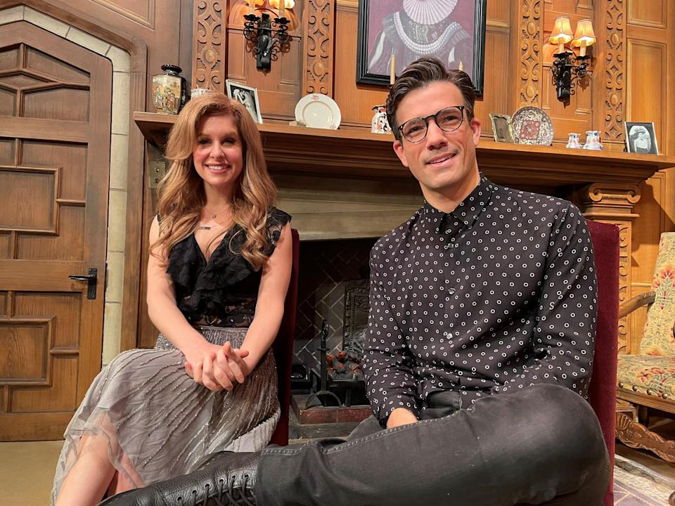Mousetrap stars Danny Mac and Cassidy Janson (PA)