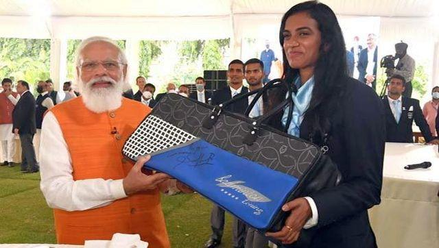 As part of the auction is the badminton bag and racket of P V Sindhu, which she gifted Modi, after winning the bronze medal at the Olympics. Sindhu created history by securing back to back medals at the Olympics 2020 and 2016. She won Bronze medal in Tokyo Olympic 2020 adding to her existing Silver medal from Rio Olympics 2016. The base price of the bag and racket is Rs 80,000. The auction that begins today will continue till 7 October. Image Courtesy: pmmementos.gov.in/