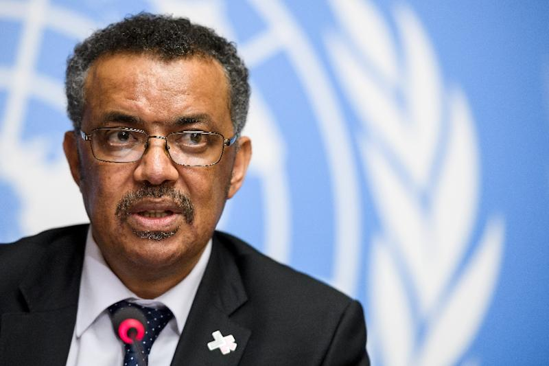 World Health Organization elects Ethiopia's Ghebreyesus as its new director
