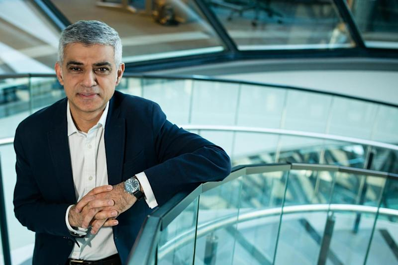 Sadiq Khan: Mayor of London to pay tribute to Westminster terror victims: Alex Lentati