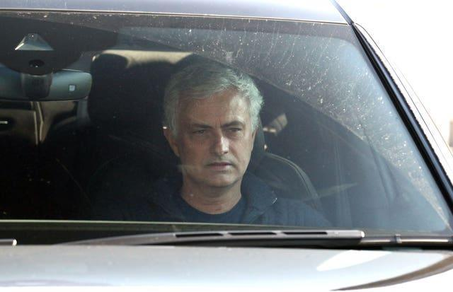 Jose Mourinho was sacked at Spurs less than a week before the Carabao Cup final (