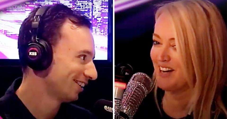 Beauty and the Geek star Lachy Mansell speaks to Jackie 'O' Henderson on KIIS FM's The Kyle & Jackie O Show