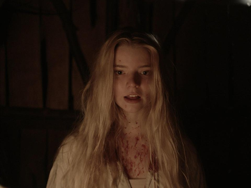 """<p>Wouldst thou like to sh*t thy pants deliciously? Then thou best watch <strong>The Witch</strong>, a """"New-England folktale"""" that will have you side-eyeing every goat for the rest of your life.</p> <p>Watch <a href=""""https://www.netflix.com/title/80037280"""" class=""""link rapid-noclick-resp"""" rel=""""nofollow noopener"""" target=""""_blank"""" data-ylk=""""slk:The Witch""""><strong>The Witch</strong></a> on Netflix now.</p>"""