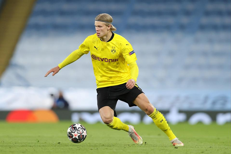 <p>Erling Haaland has scored 37 goals in just 38 games for Borussia Dortmund so far this season</p> (Getty Images)