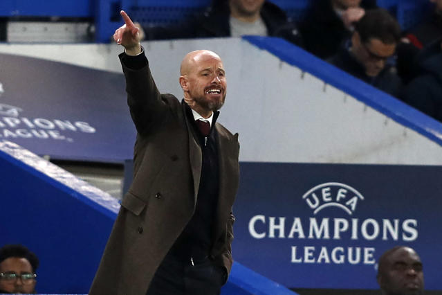Ajax manager Erik ten Hag might be just as coveted as his current crop of starlets. (Getty Images)