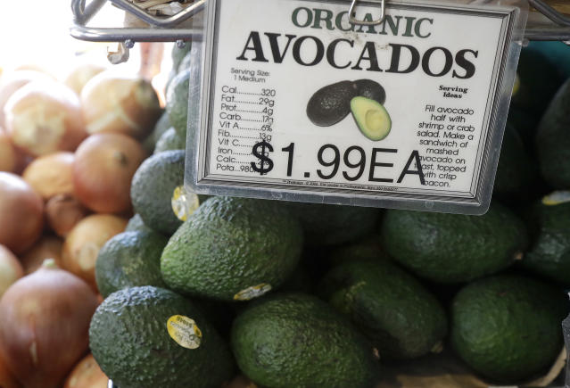 Consumer prices are expected to be up more than 2% over last year in April. (AP Photo/Jeff Chiu)