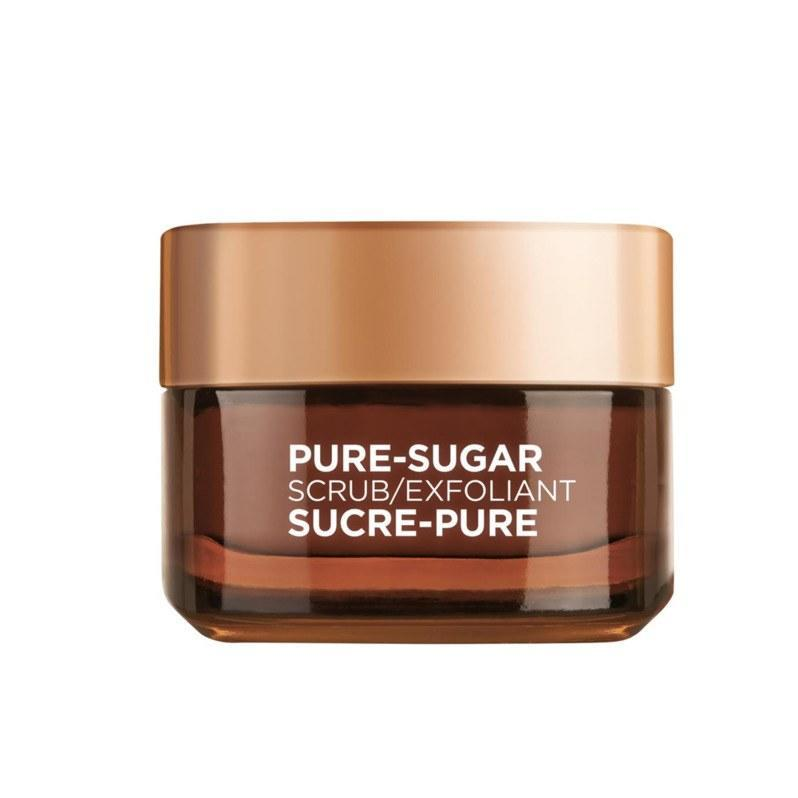 """For oily skin, sugar scrubs can be an excellent <a href=""""https://www.allure.com/story/best-exfoliator-for-your-skin-type?mbid=synd_yahoo_rss"""" rel=""""nofollow noopener"""" target=""""_blank"""" data-ylk=""""slk:precursor to acid treatments"""" class=""""link rapid-noclick-resp"""">precursor to acid treatments</a> because they sweep away dead skin cells, allowing the acids to go to work. (For more sensitive types, stick to one or the other to avoid over-exfoliation.) We especially like this creamy formula because it can also be used as a lip scrub."""