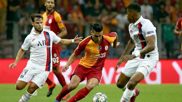 Radamel Falcao Galatasaray PSG UCL 10012019