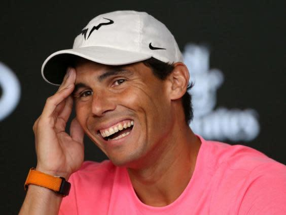 Rafael Nadal admits he is surprised he is still playing at the top (REUTERS)