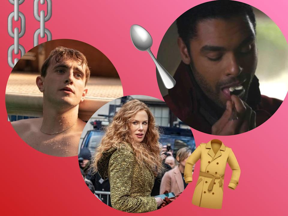 <p>The most standard televised objects have come to bear a near-supernatural chemistry</p> (BBC / HBO / Netflix)
