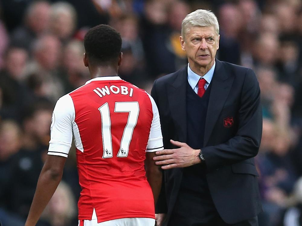 The young Nigerian winger doesn't think sacking Wenger is the answer: Getty