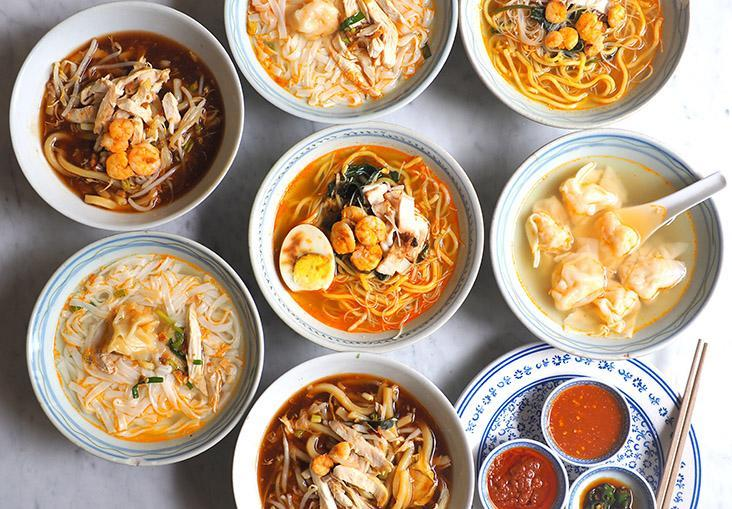 At this stall you get to sample prawn mee, 'lam mee', chicken shredded noodles and prawn 'wantans' — Pictures by Lee Khang Yi