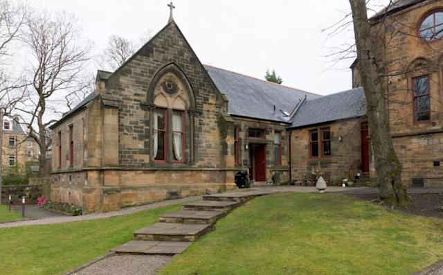 <p>If you're headed to Glasgow, this converted church with two bedrooms for $215 a night could be the right fit for you. </p>