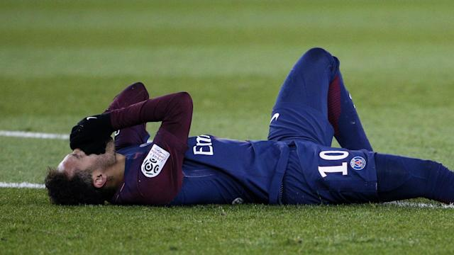 The Paris Saint-Germain forward suffered a broken metatarsal in February, with it initially suggested that he would be out for around three months