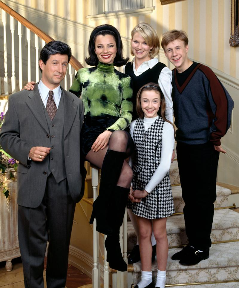 """The cast of """"The Nanny."""" Photo by CBS via Getty Images)"""