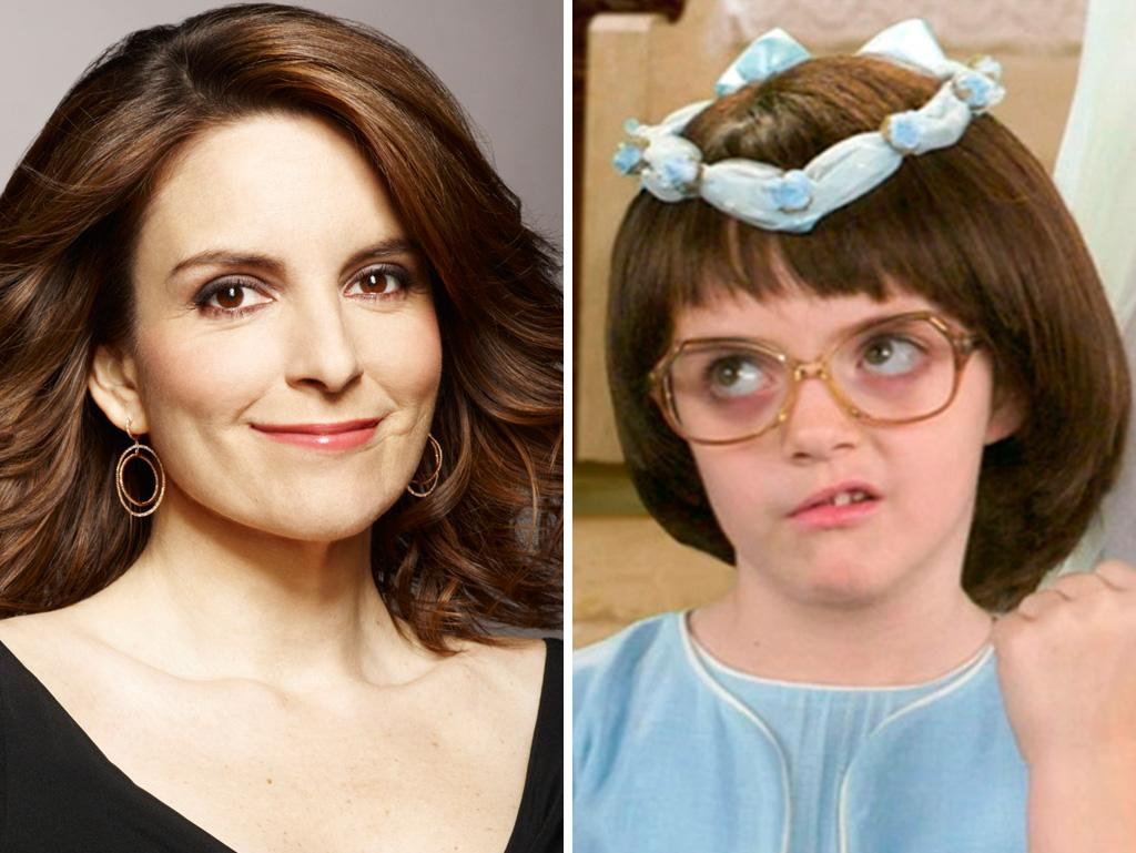 Twinsie alert! If you think Liz Lemon's younger self looked a lot like her, it's because she was played by Fey's real-life daughter, Alice Richmond!