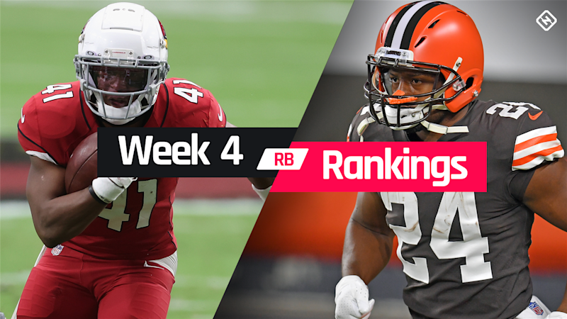 Week 4 Fantasy RB Rankings: Must starts, sleepers, potential busts at running back