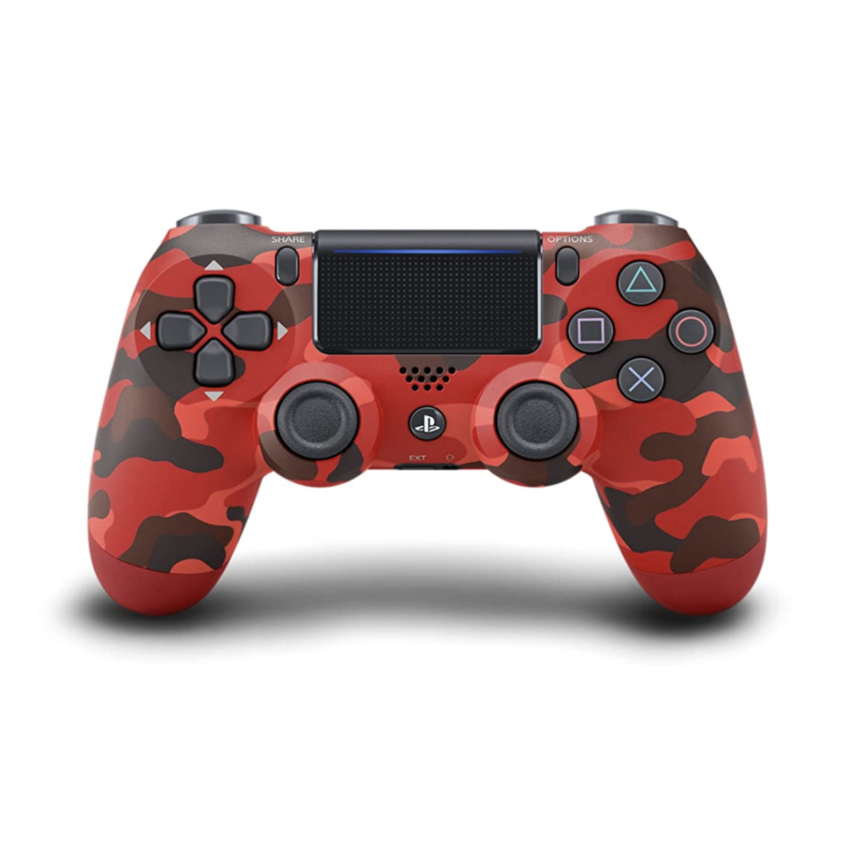 """<p><strong>PlayStation</strong></p><p>amazon.com</p><p><strong>$64.99</strong></p><p><a href=""""https://www.amazon.com/dp/B01MTKXP31?tag=syn-yahoo-20&ascsubtag=%5Bartid%7C10065.g.23515577%5Bsrc%7Cyahoo-us"""" rel=""""nofollow noopener"""" target=""""_blank"""" data-ylk=""""slk:Shop Now"""" class=""""link rapid-noclick-resp"""">Shop Now</a></p><p>There's one thing on this earth he loves more than his phone: this PlayStation. Gift him a cool controller for optimal gaming. </p>"""