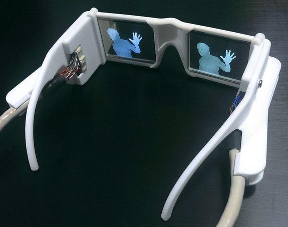 The 'smart glasses' could translate street signs into audible speech.