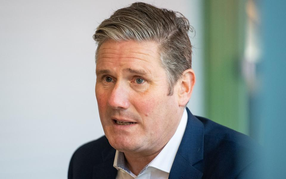 Sir Keir Starmer will hold a call with members of the public in the constituency on Wednesday - Dominic Lipinski/PA