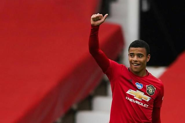 Teenage kicks: Manchester United's Mason Greenwood reaped praise from manager Ole Gunnar Solskjaer after scoring twice against Bournemouth (AFP Photo/Dave Thompson)