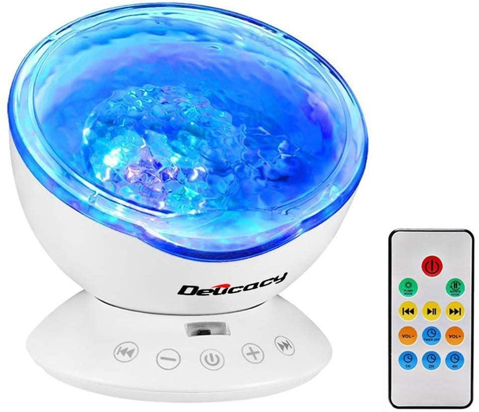 <p>This <span>Delicacy Ocean Wave Projector</span> ($26) can help you sleep.</p>