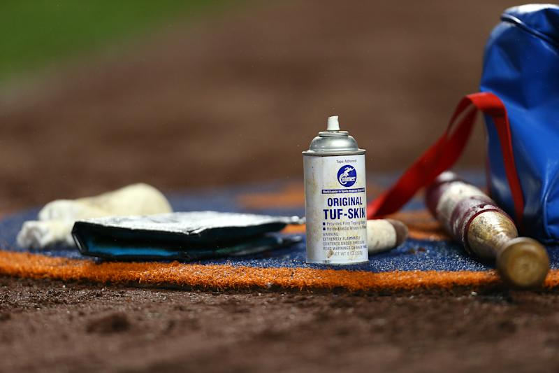 MLB cracking down on pine tar.