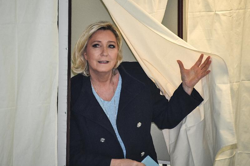 Le Pen lost out to Macron in a bitter presidential election in 2017