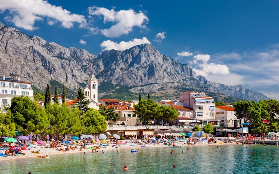 Don't be fooled into thinking 'green' necessarily means 'go'. Austria, for example, currently bans all arrivals from Britain, while Croatia (pictured) welcomes them - Jorg Greuel/Getty