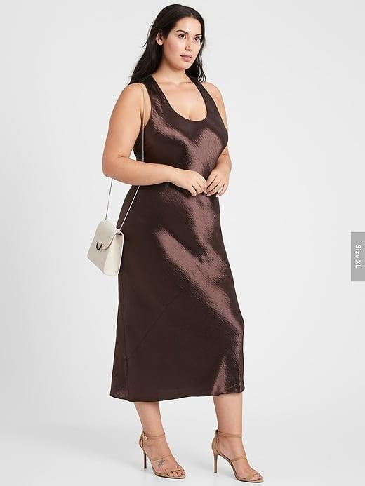 <p>We can't get enough of the romantic look of this <span>Banana Republic Bias-Cut Satin Slip Dress</span> ($149). And as slip dresses were originally designed for the bed room, you know they're comfortable!</p>