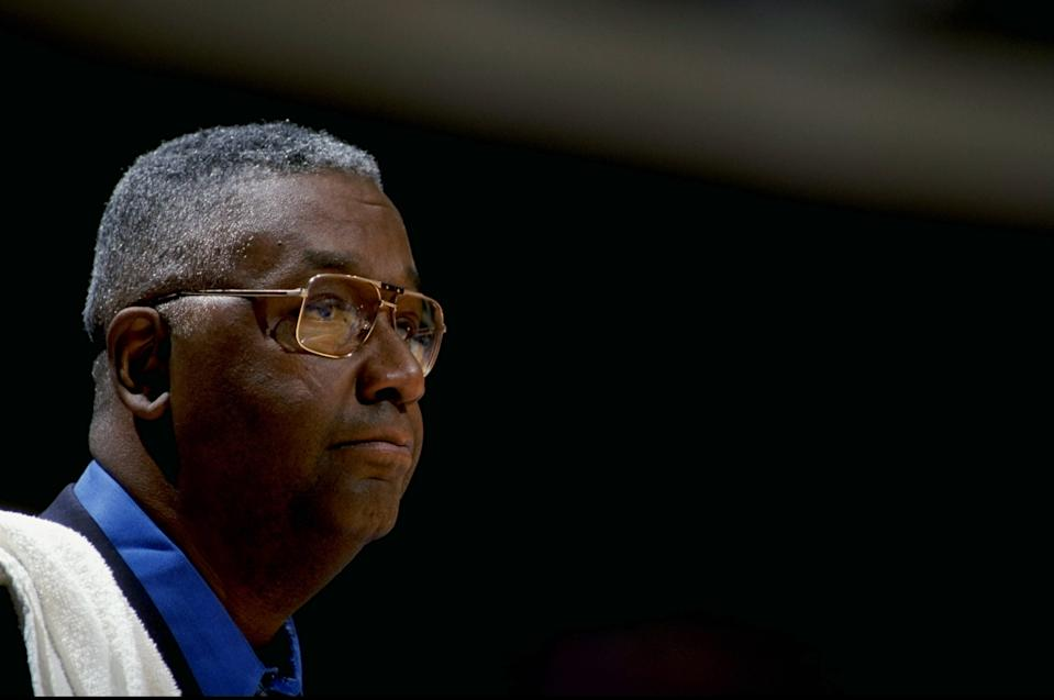 John Thompson, the towering coach of the Georgetown Hoyas, became the first Black coach to lead a team to an NCAA championship in 1984 and finished his career with 596 wins. Thompson's coaching legacy earned him a place in the Hall of Fame, where four of his former players are also enshrined. Before entering coaching, Thomson won two championships in a brief NBA career with the Celtics' dynasty of the 1960s. 'Big John' was 78.
