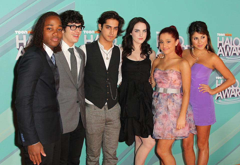 """Ariana Grande spent four seasons on Nickelodeon's """"Victorious."""""""