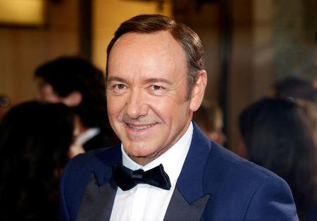 FILE PHOTO: Actor and presenter Kevin Spacey arrives at the 86th Academy Awards in Hollywood