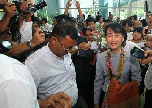 Aung San Suu Kyi is to visit Switzerland, Norway, Britain, France and Ireland on her more than two week tour