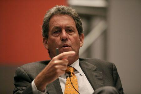 Peru's Finance Minister Alfredo Thorne attends the Thomson Reuters Economic and Financial Forum in Lima