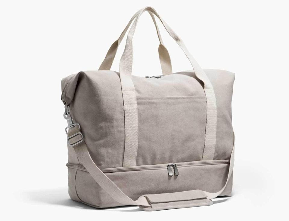 <p>This useful <span>The Catalina Deluxe Weekender</span> ($143) features so many pockets and is easy to carry around or attach to a suitcase.</p>