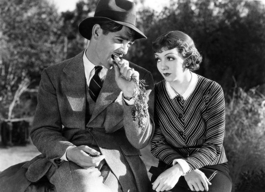 "1934  Frank Capra's ""It Happened One Night"" premiered in New York on this day. Starring Clark Gable and Claudette Colbert, it became the first film to win Oscars for all the major categories: best picture, best director, best screenplay, best actor, and best actress. Gable appears without an undershirt during one famous scene, which caused undershirt sales to plummet throughout the United States."