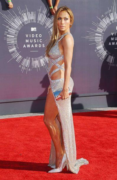 PHOTO: Jennifer Lopez arrives at the 2014 MTV Video Music Awards on Aug. 24, 2014 in Inglewood, Calif. (Axelle/Bauer-Griffin/FilmMagic via Getty Images)