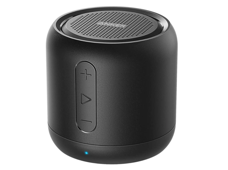 Anker SoundCore Mini Bluetooth Speaker in Black. Image via Amazon.