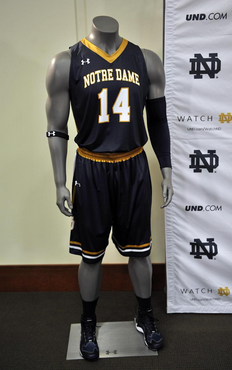 Notre Dame switching from Adidas to Under Armour d8bdbb3ae