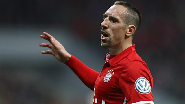 Manchester United, Barcelona and Real Madrid were all snubbed by Franck Ribery, according to the Bayern Munich star himself.