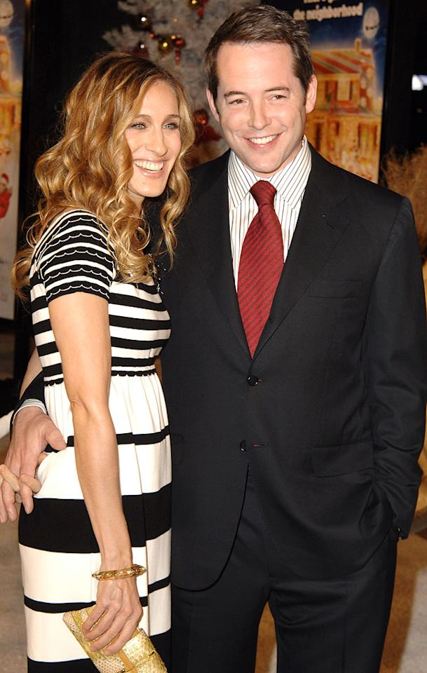"""Sarah Jessica Parker can thank her brother for introducing her to husband Matthew Broderick. Steve Granitz/<a href=""""http://www.wireimage.com"""" target=""""new"""">WireImage.com</a> - November 12, 2006"""