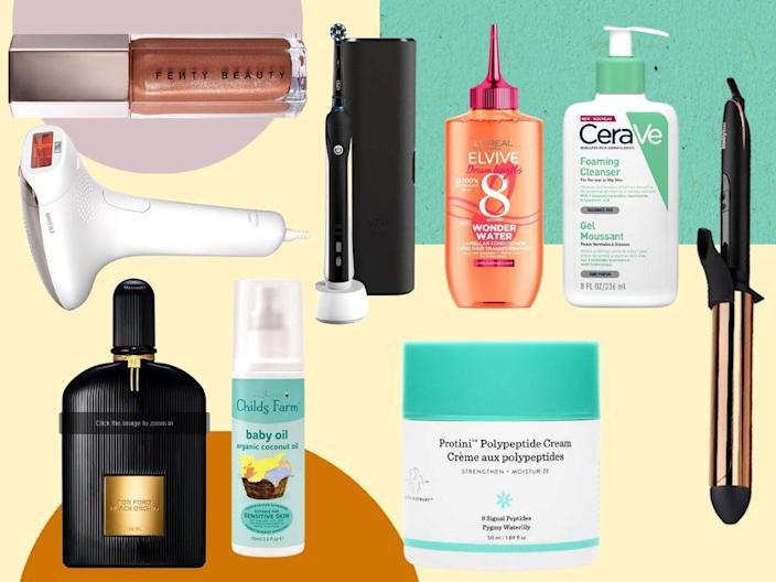 There's no better time to save on beauty, skincare, electric toothbrushes and much more (iStock/The Independent)