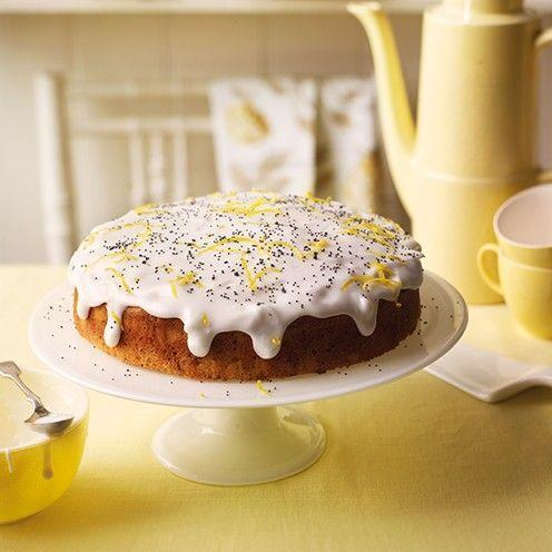 """<p>Made with yogurt, this failsafe lemon and poppyseed bake is easy to master and a true classic.</p><p><strong>Recipe: <a href=""""https://www.goodhousekeeping.com/uk/food/recipes/a537927/lemon-and-poppy-seed-cake/"""" rel=""""nofollow noopener"""" target=""""_blank"""" data-ylk=""""slk:Lemon and Poppy Seed Cake"""" class=""""link rapid-noclick-resp"""">Lemon and Poppy Seed Cake</a></strong></p>"""